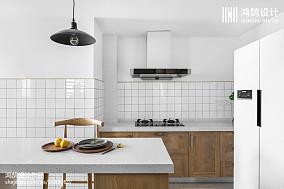 2018面积130平日式四居厨房设计效果图