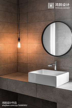 浪漫119平日式四居卫生间设计案例