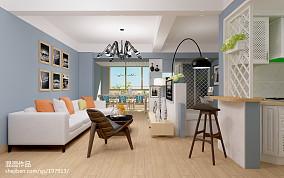 精选79平米简约小户型客厅装修图片大全