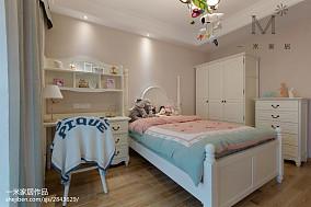 优美93平美式三居装潢图三居美式经典家装装修案例效果图