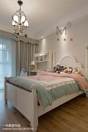 平美式三居儿童房装修图片三居美式经典家装装修案例效果图