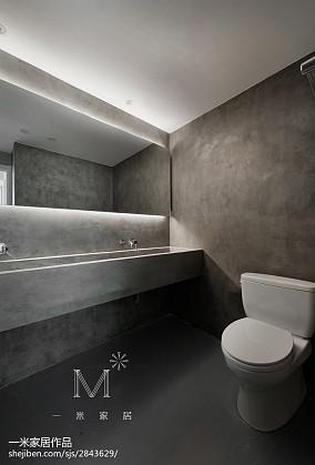 面积104平北欧三居卫生间装修设计效果图片大全家装装修案例效果图