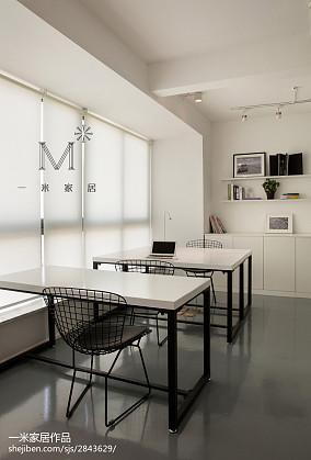 面积93平北欧三居休闲区实景图片三居北欧极简家装装修案例效果图