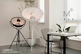 精美三居休闲区北欧装修实景图片欣赏家装装修案例效果图