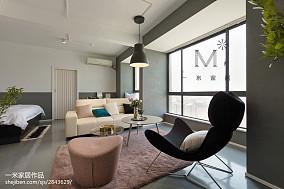 精美面积95平北欧三居客厅装修设计效果图三居北欧极简家装装修案例效果图