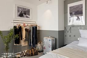 精美三居卧室北欧实景图片三居北欧极简家装装修案例效果图