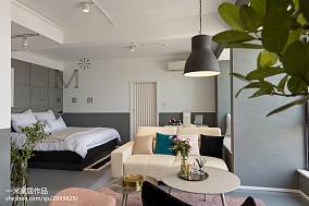 2018精选北欧三居卧室装修设计效果图三居北欧极简家装装修案例效果图