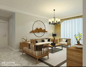 2018东南亚三居客厅装修效果图