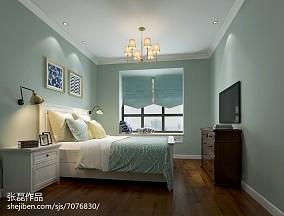 精美二居卧室美式欣赏图