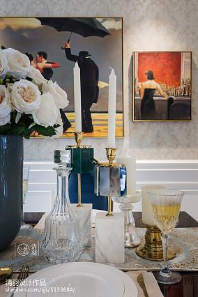 大气116平新古典三居餐厅效果图片大全