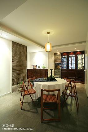热门中式二居餐厅实景图片