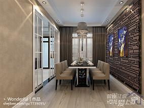 暖色调客厅窗帘装修效果图片