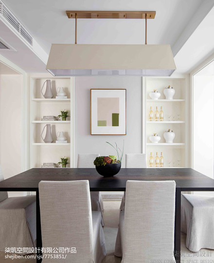 2018精选复式餐厅现代装修设计效果图片欣赏厨房