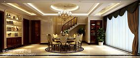 精选别墅餐厅新古典装饰图片