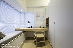 热门日式二居书房装修效果图片欣赏