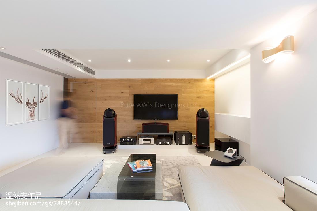 精选101平米三居客厅现代效果图客厅