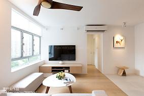 2018面积74平简约二居客厅装修图片