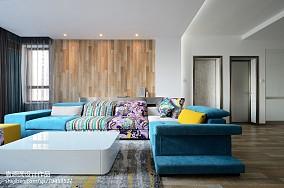 2018精选大小108平北欧三居客厅装修实景图片大全