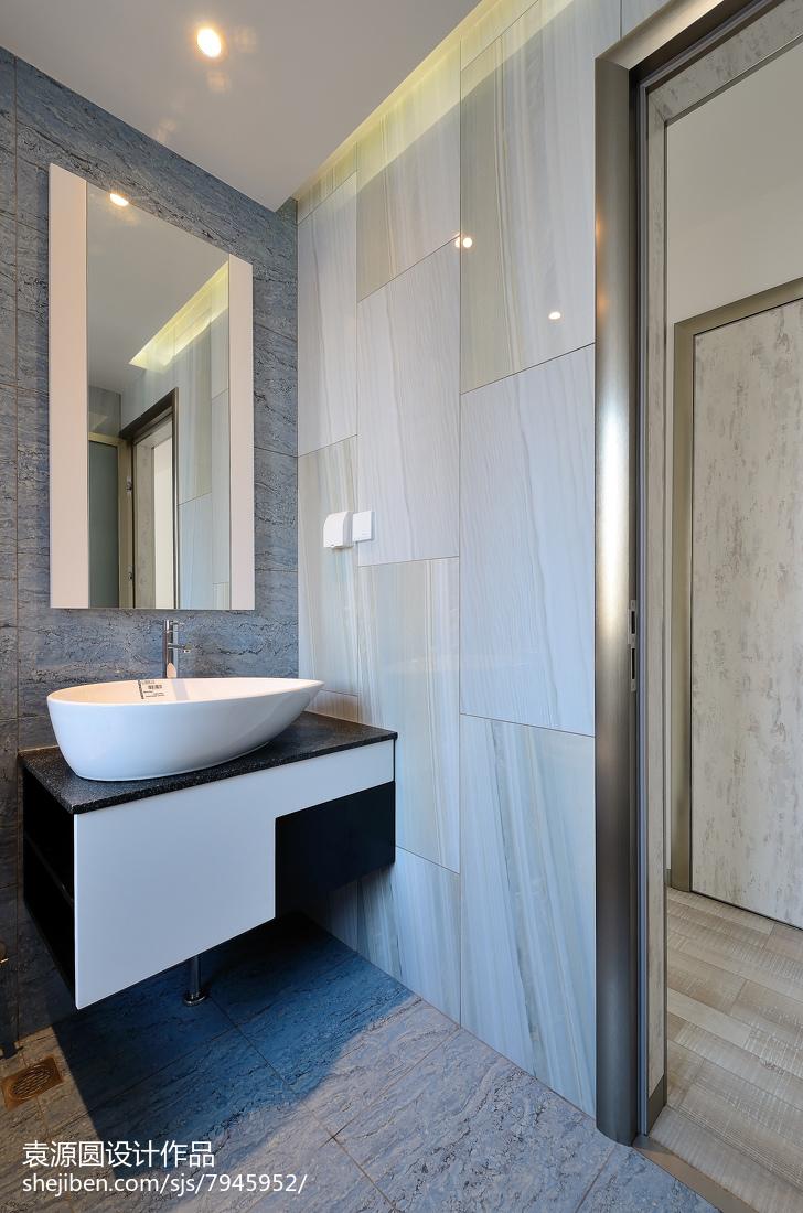 砖砌卫生间洗手台