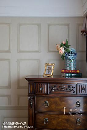 精选83平米二居卧室美式欣赏图片大全