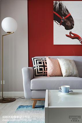 精选84平米现代小户型客厅装修实景图客厅1图现代简约设计图片赏析
