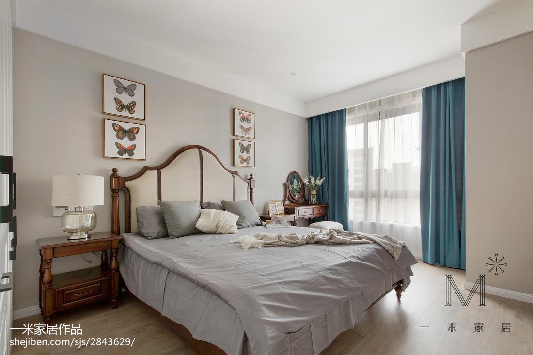 2018大小106平现代三居卧室装修效果图片大全卧室现代简约卧室设计图片赏析