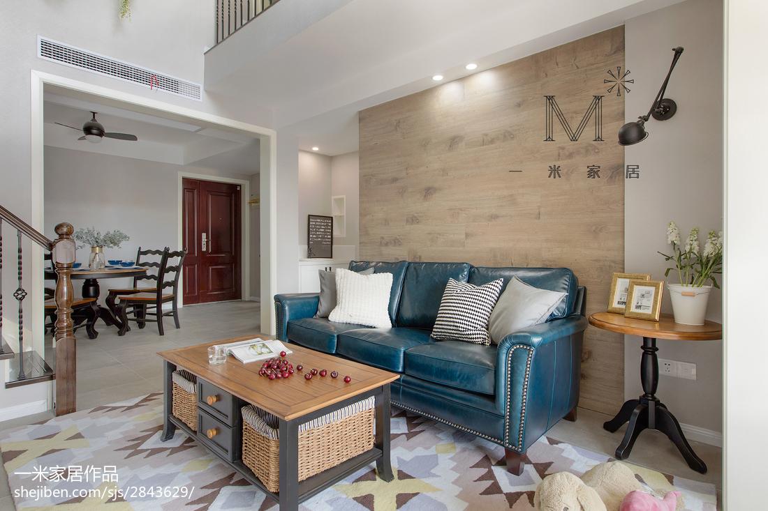 热门90平米三居现代实景图客厅现代简约客厅设计图片赏析
