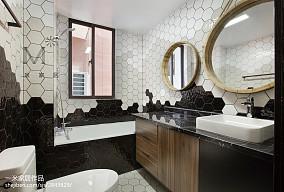 现代时尚家居卫生间装修效果图卫生间2图现代简约卫生间设计图片赏析
