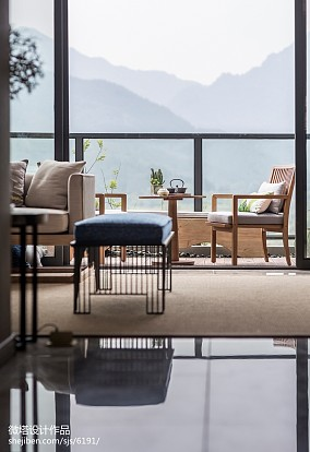 2018精选中式装修实景图片欣赏样板间中式现代家装装修案例效果图