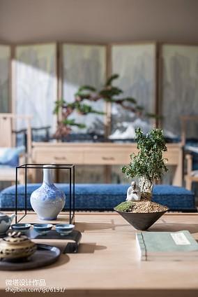 精选中式客厅装修效果图片样板间中式现代家装装修案例效果图