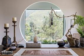 热门书房中式装修设计效果图片欣赏样板间中式现代家装装修案例效果图