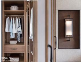 精美中式卧室效果图样板间中式现代家装装修案例效果图
