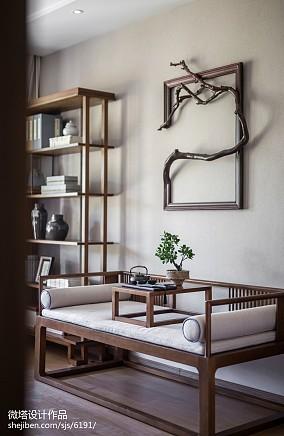 热门卧室中式欣赏图样板间中式现代家装装修案例效果图