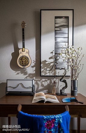 温馨328平中式样板间卧室效果图片大全样板间中式现代家装装修案例效果图