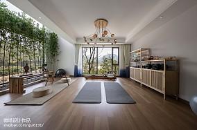 精选休闲区中式装修效果图片欣赏样板间中式现代家装装修案例效果图