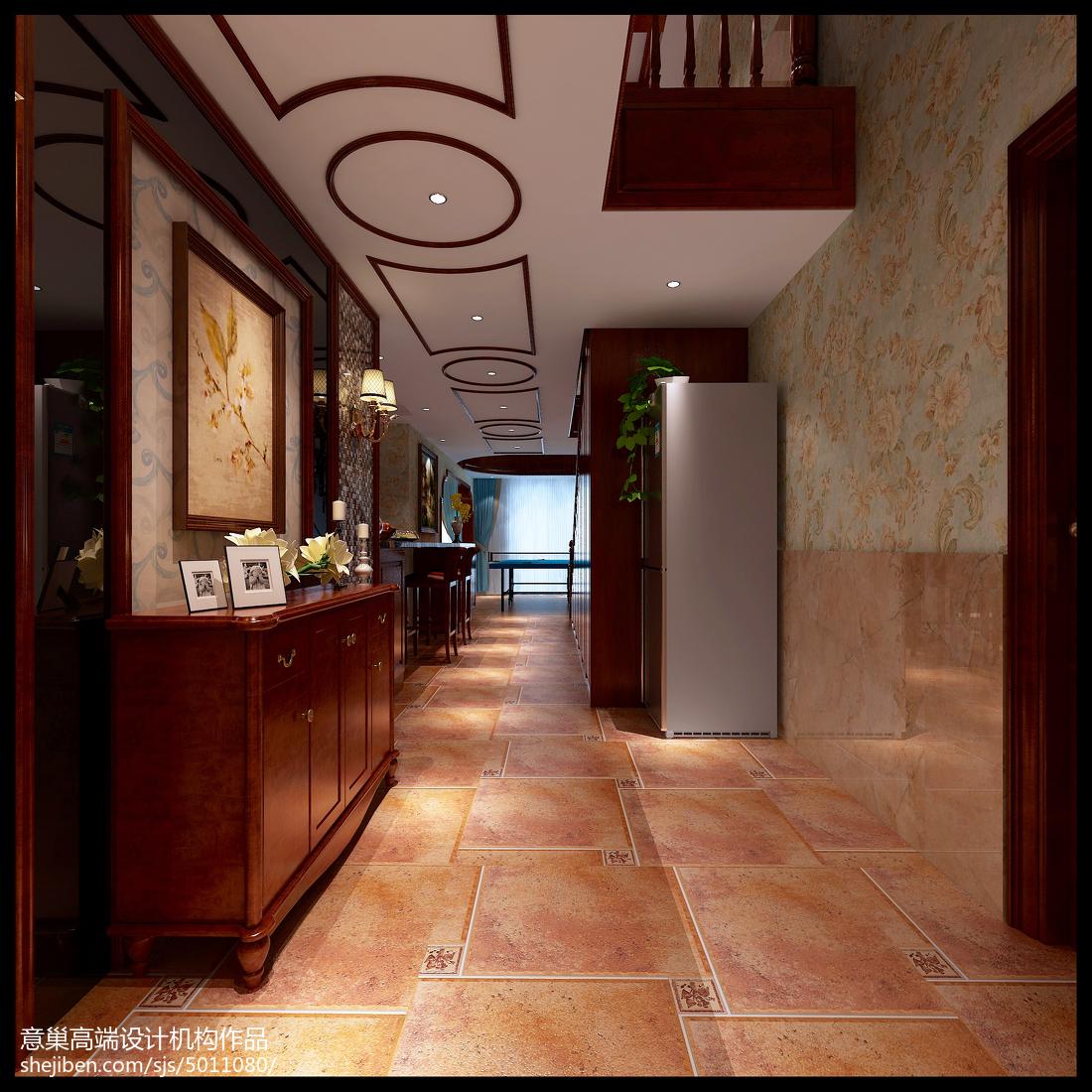 欢喜美式情怀功能区瓷砖美式经典功能区设计图片赏析