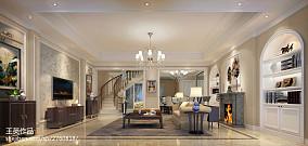 新古典风格别墅室内过道图片