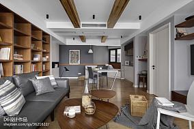 精选面积70平小户型客厅北欧欣赏图片大全