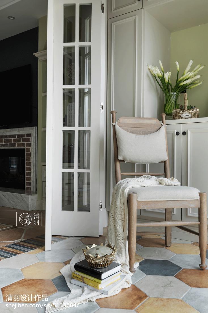 精美美式三居阳台欣赏图片阳台美式经典阳台设计图片赏析