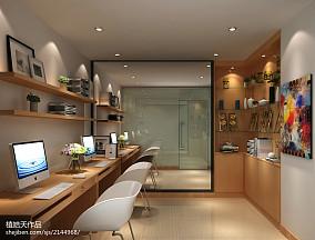 热门120平米四居书房中式装修设计效果图片大全