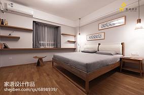 精选83平米日式小户型卧室实景图片欣赏一居日式家装装修案例效果图