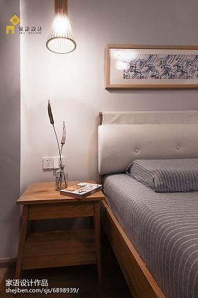 2018面积90平小户型卧室日式效果图片大全一居日式家装装修案例效果图