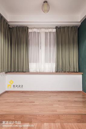 2018小户型儿童房日式装修设计效果图一居日式家装装修案例效果图