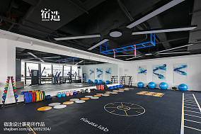 fitness私教中心活动区设计图201-500m²家装装修案例效果图