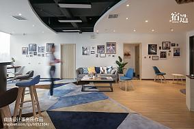 fitness私教中心休息区装修效果图201-500m²家装装修案例效果图