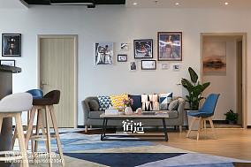 fitness私教中心休闲区装修效果图201-500m²家装装修案例效果图