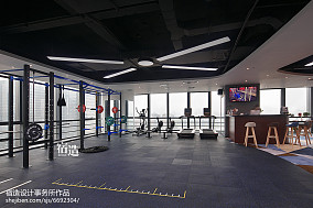 fitness私教中心运动区设计图片201-500m²家装装修案例效果图