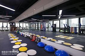 fitness私教中心运动区装修图201-500m²家装装修案例效果图