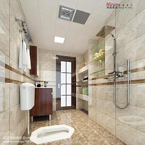 精选中式三居卫生间装饰图片欣赏