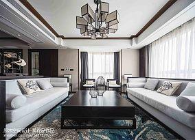 优美180平中式三居客厅实景图